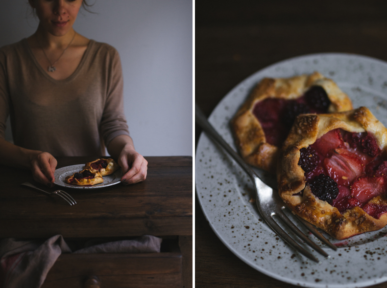 Little Berry Galettes