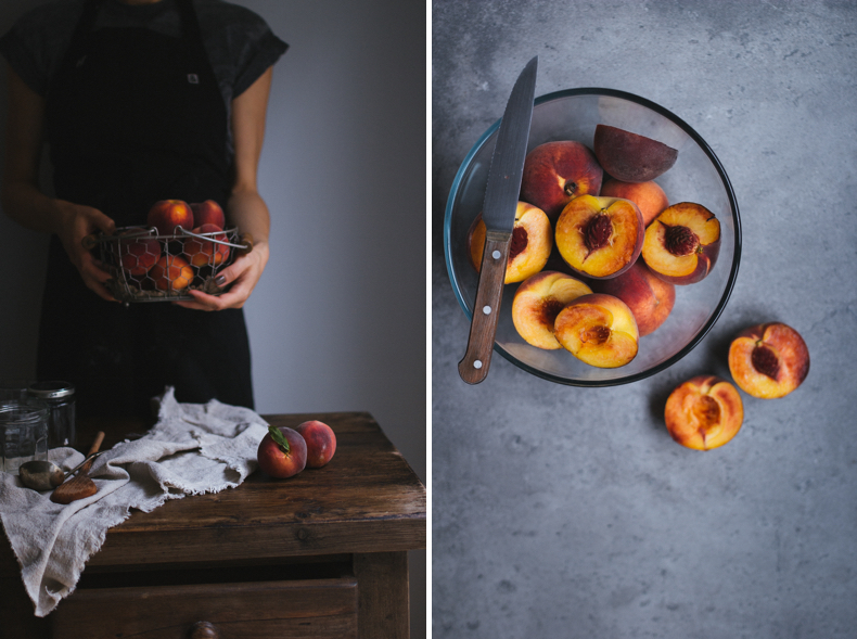 Peach Jam by Tanya Balyanitsa (more seasonal recipes on Honeytanie.com)
